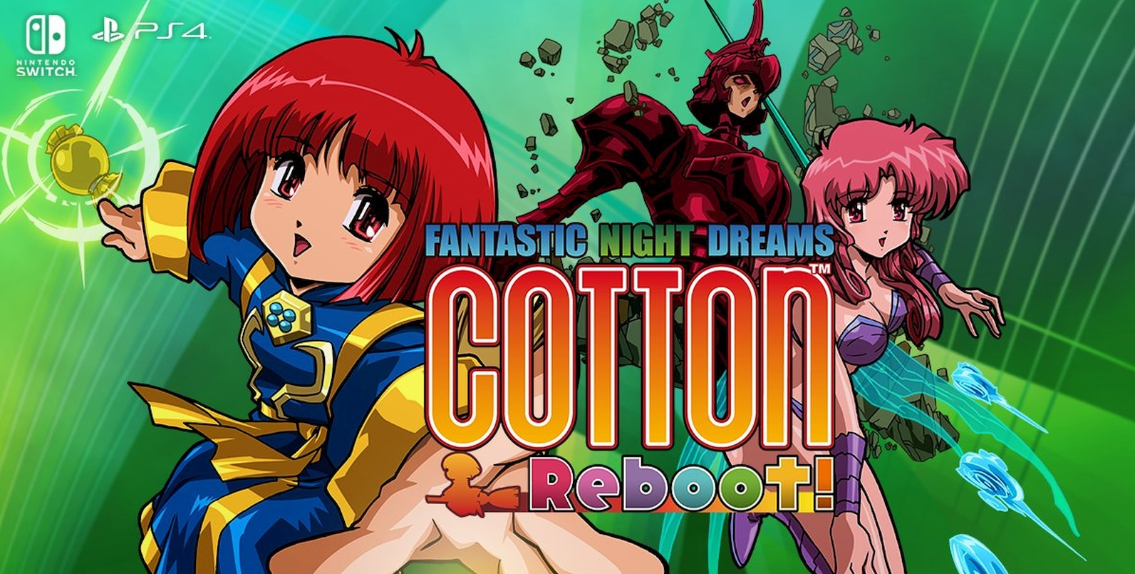 ININ Games Announces Cotton Reboot! For North America And Europe In 2021