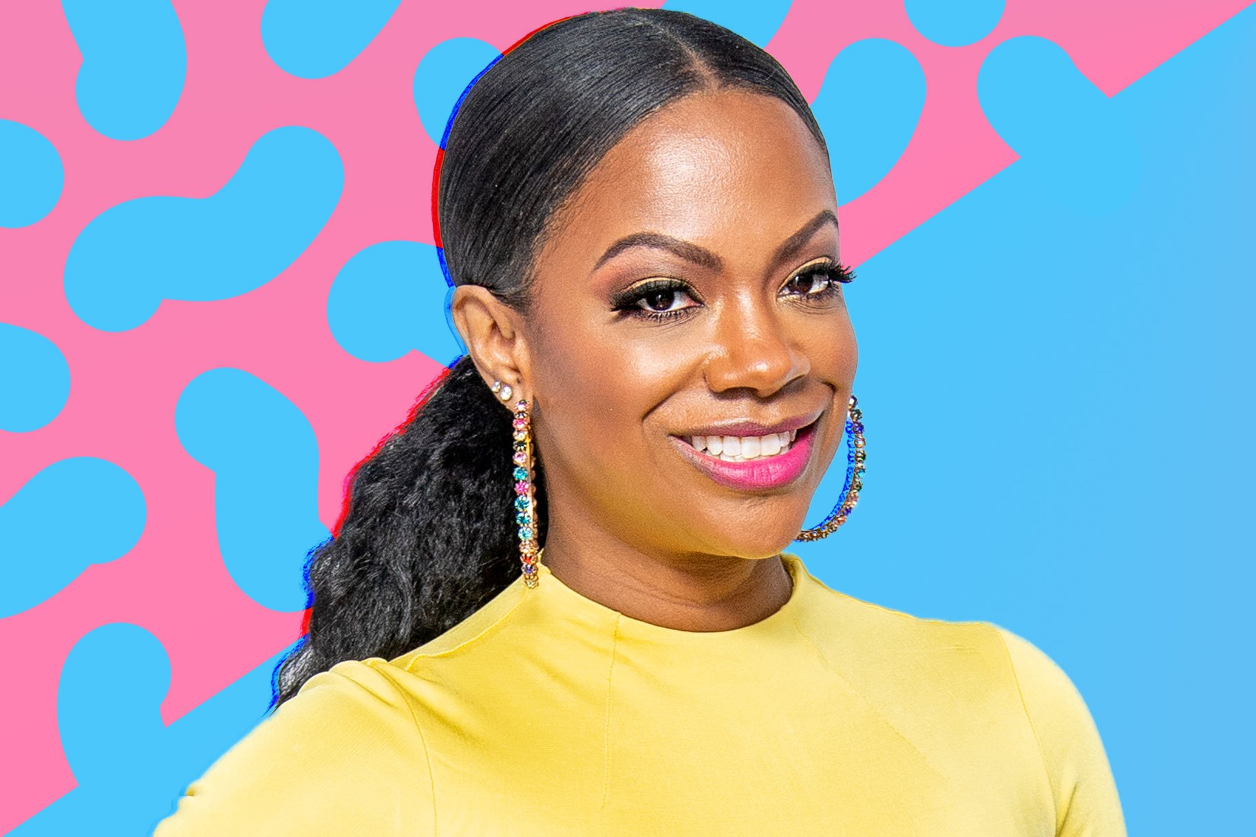 Kandi Burruss' Photo With Blaze Tucker Makes Fans Laugh – Check Out The Funny Caption