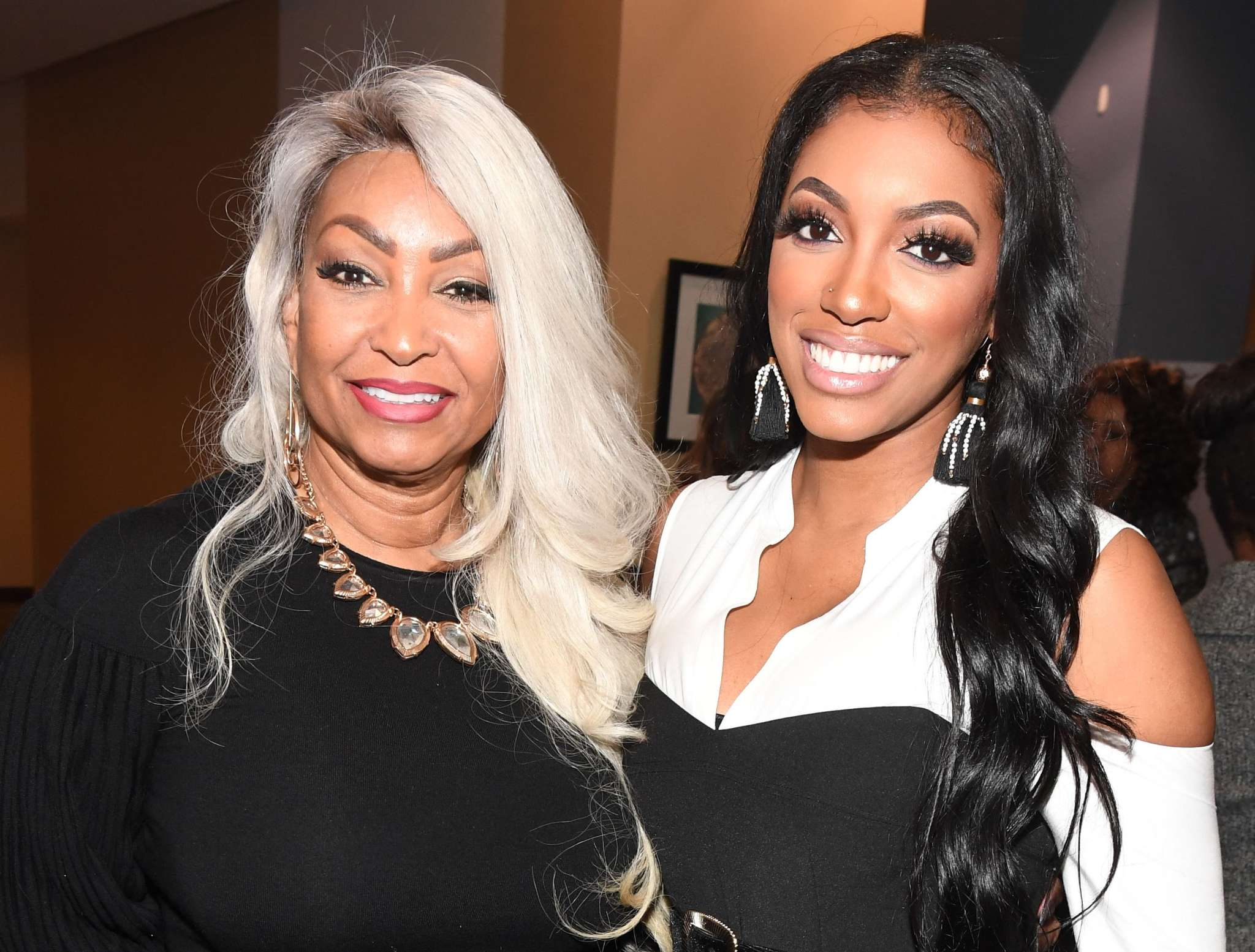 Porsha Williams Celebrates The Birthday Of Her Mom's BF – Check Out Diane's Funny Video With Him