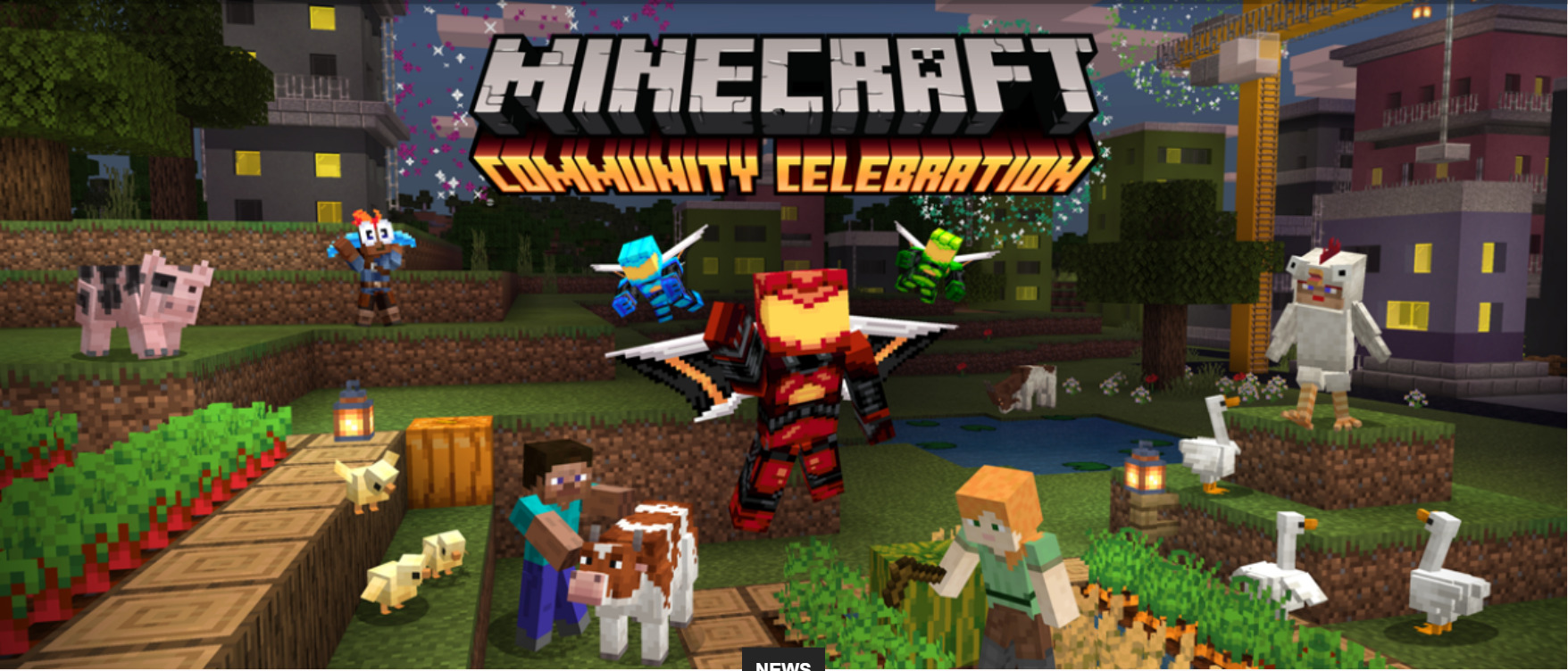 Minecraft Is Currently Having A Celebration, Giving Away Free Items And User Content