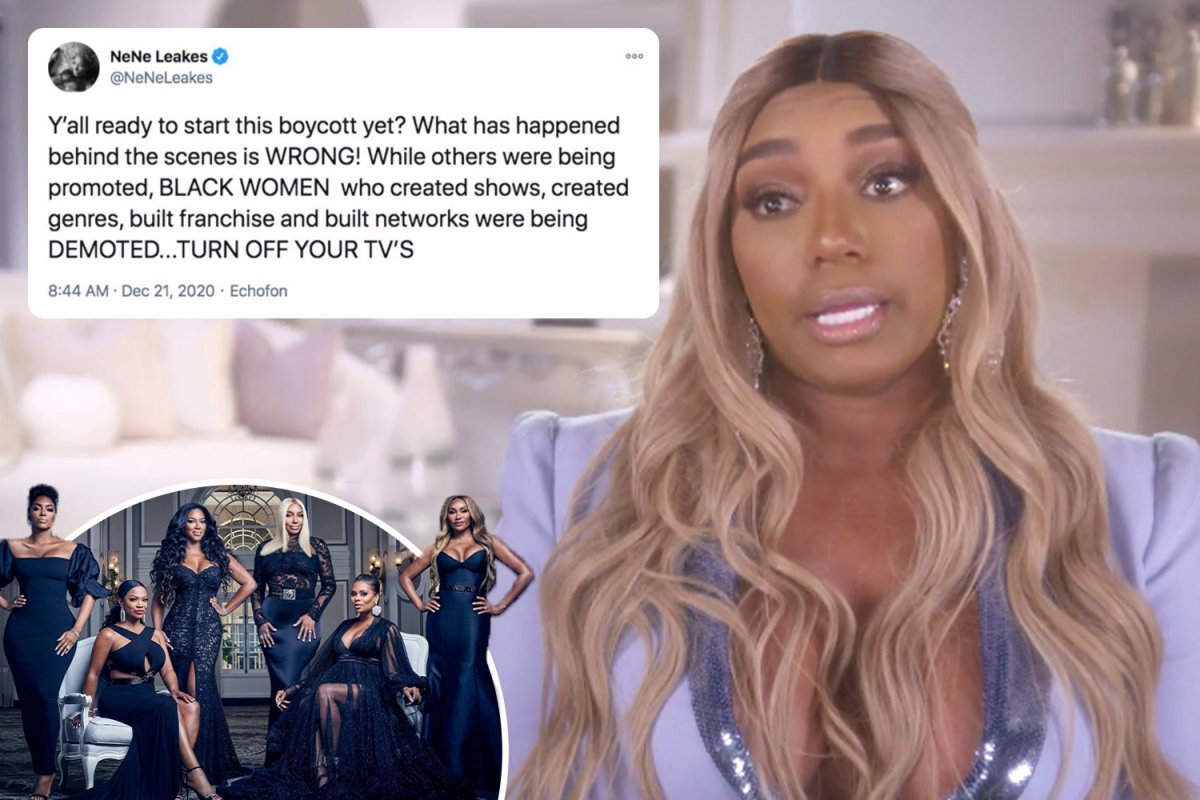NeNe Leakes Addresses RHOA Mistreatment And Boycott – See Her Video And Messages