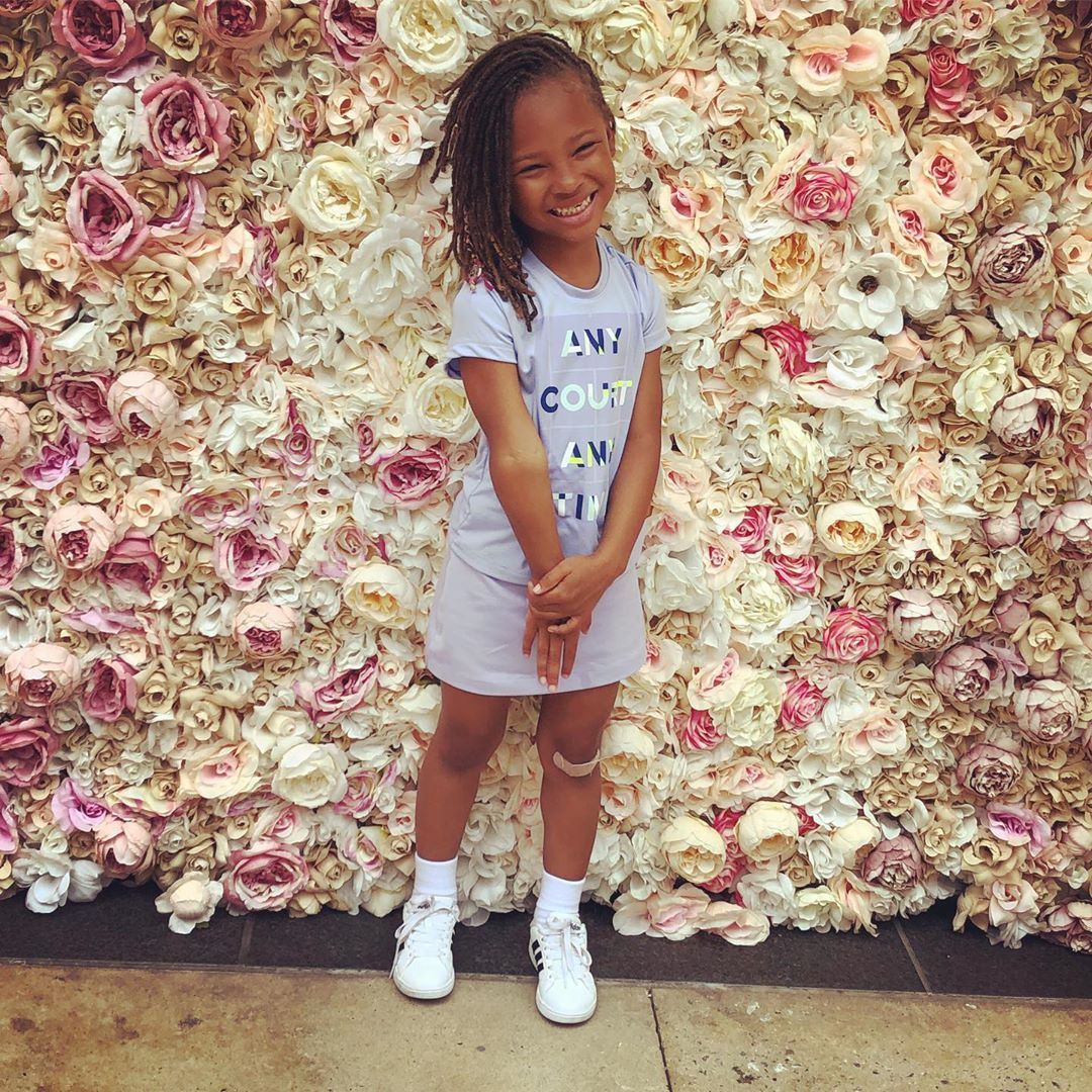 Eva Marcille's Daughter, Marley Rae Looks Gorgeous As Santa's Little Helper