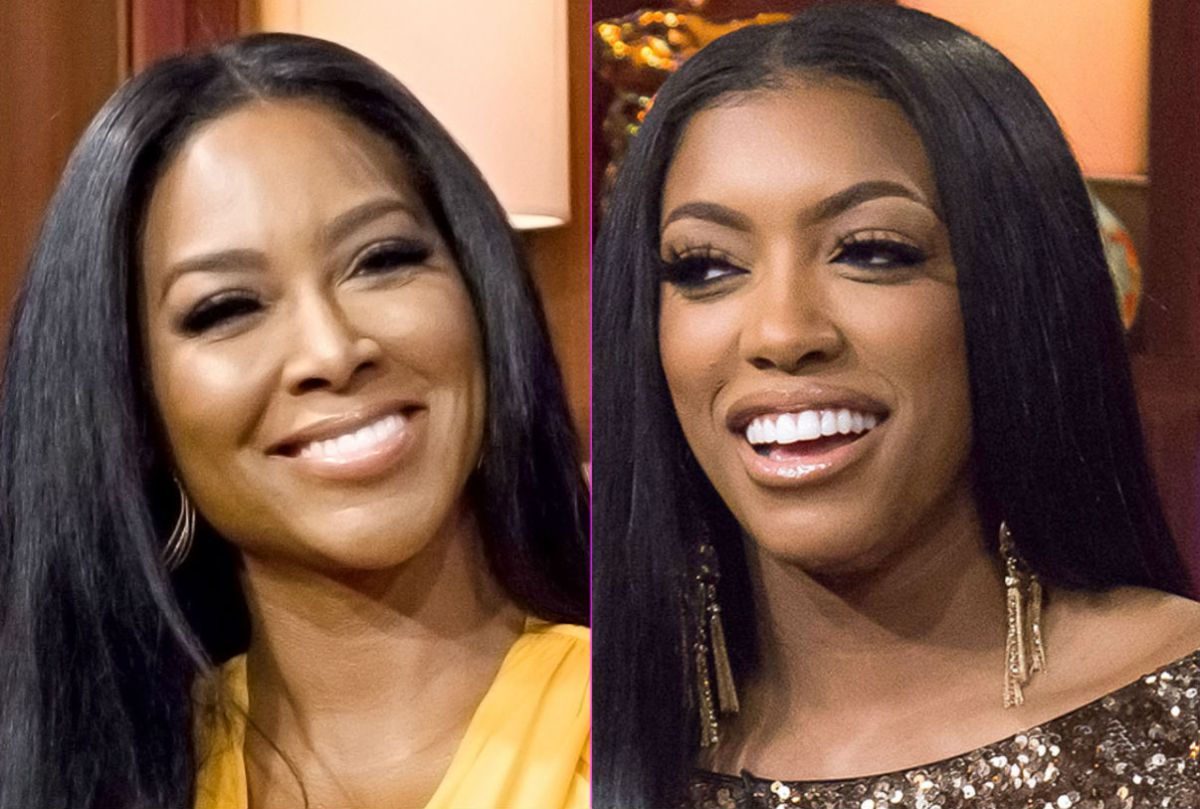 Kenya Moore Gets Dragged For Insinuating Porsha Williams And Black Lives Matter Protestors Are Purposely Getting Arrested