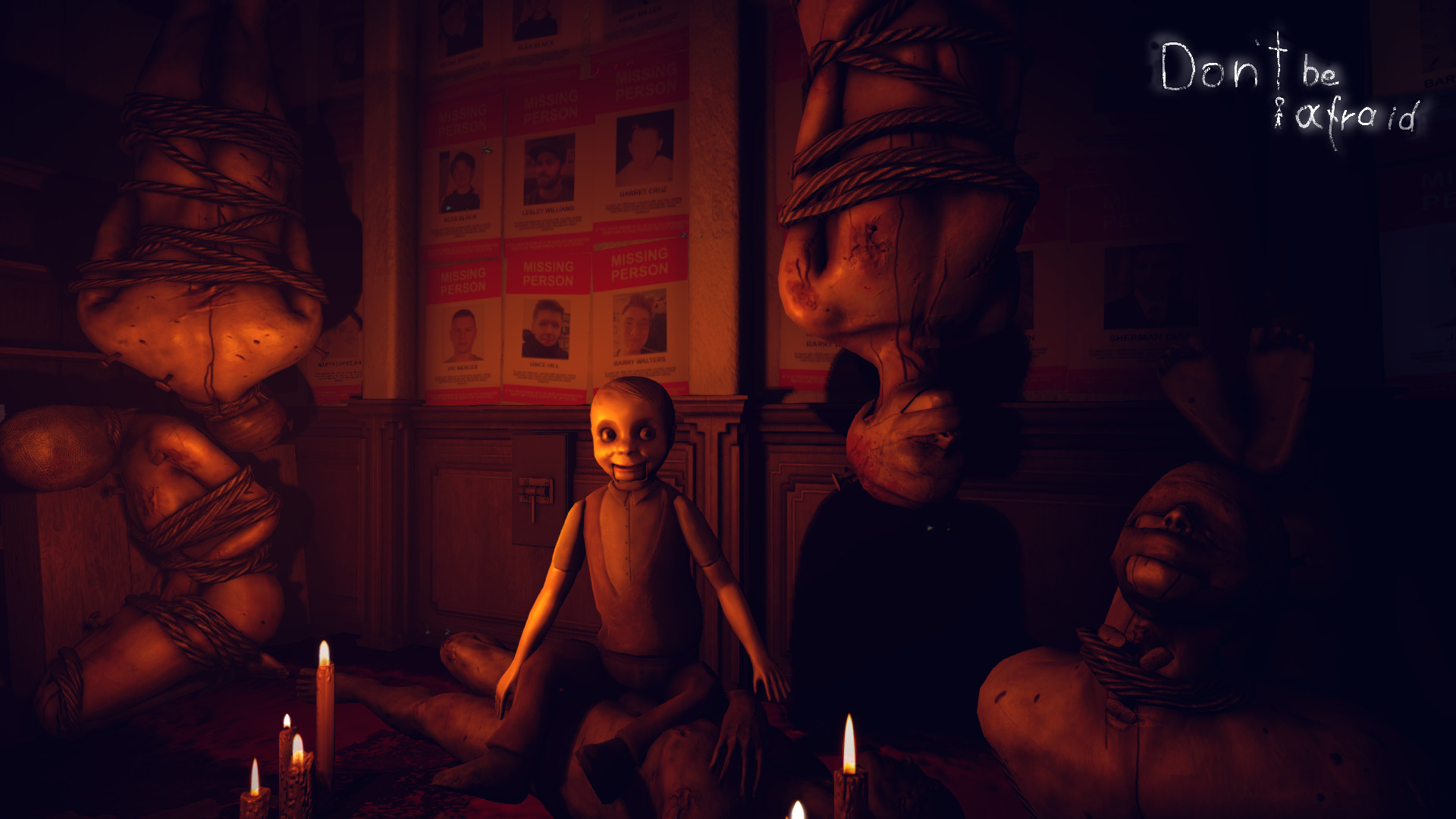 Don't Be Afraid Is Available On Steam Placing Players In A Very Realistic Nightmare Experience