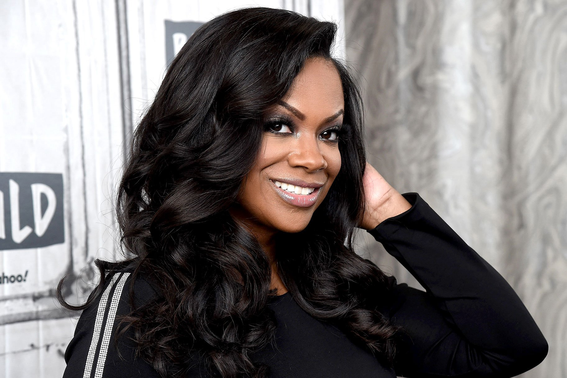 Kandi Burruss Has The Best Time At Her And Todd Tucker's Restaurant, 'Blaze Steak And Seafood'