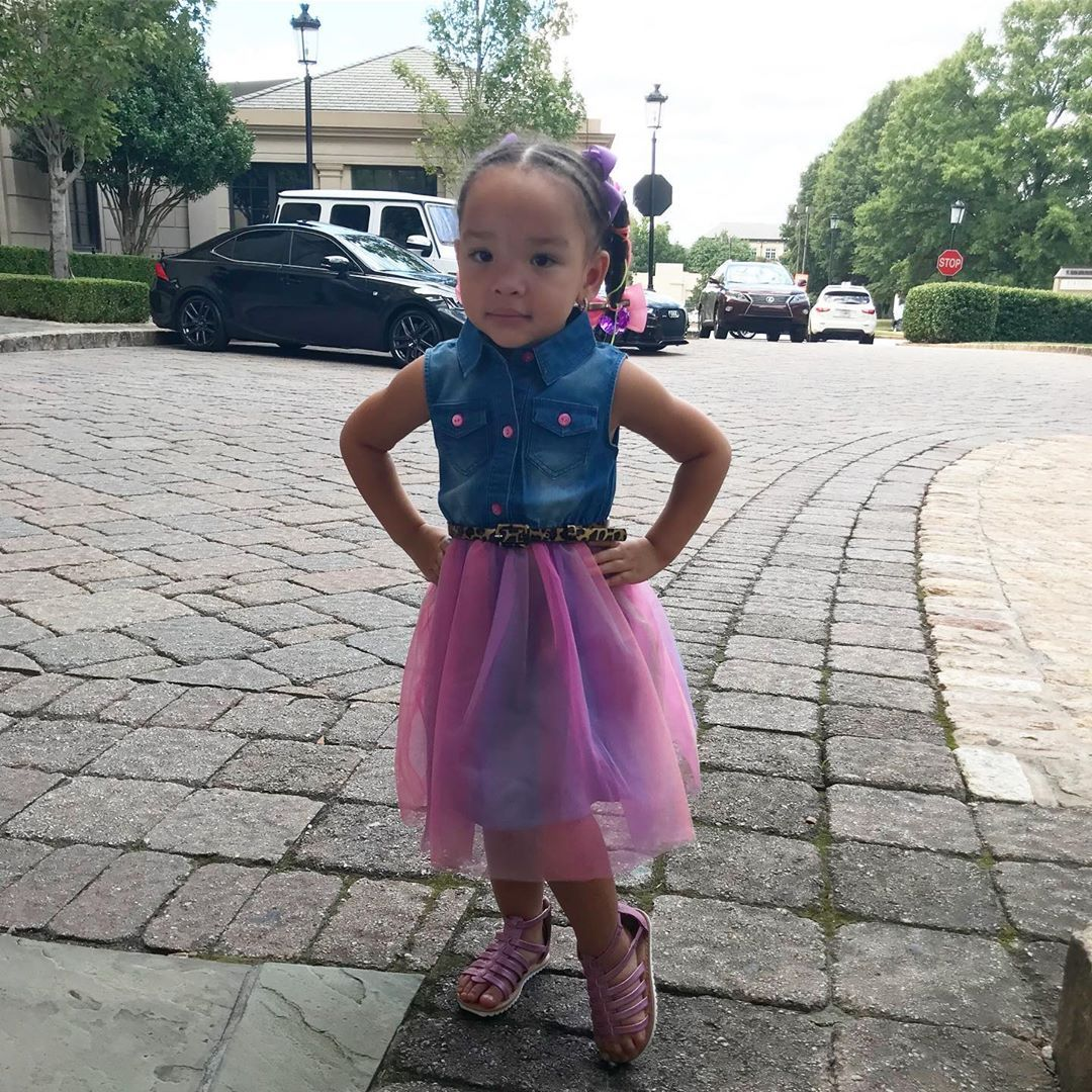 Tiny Harris' Daughter, Heiress Harris Is Learning Harmony Now – Check Out The Clip