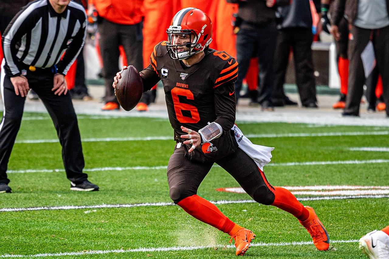 Baker Mayfield Leads Cleveland Browns To a Win Over the New York Giants, 20-6