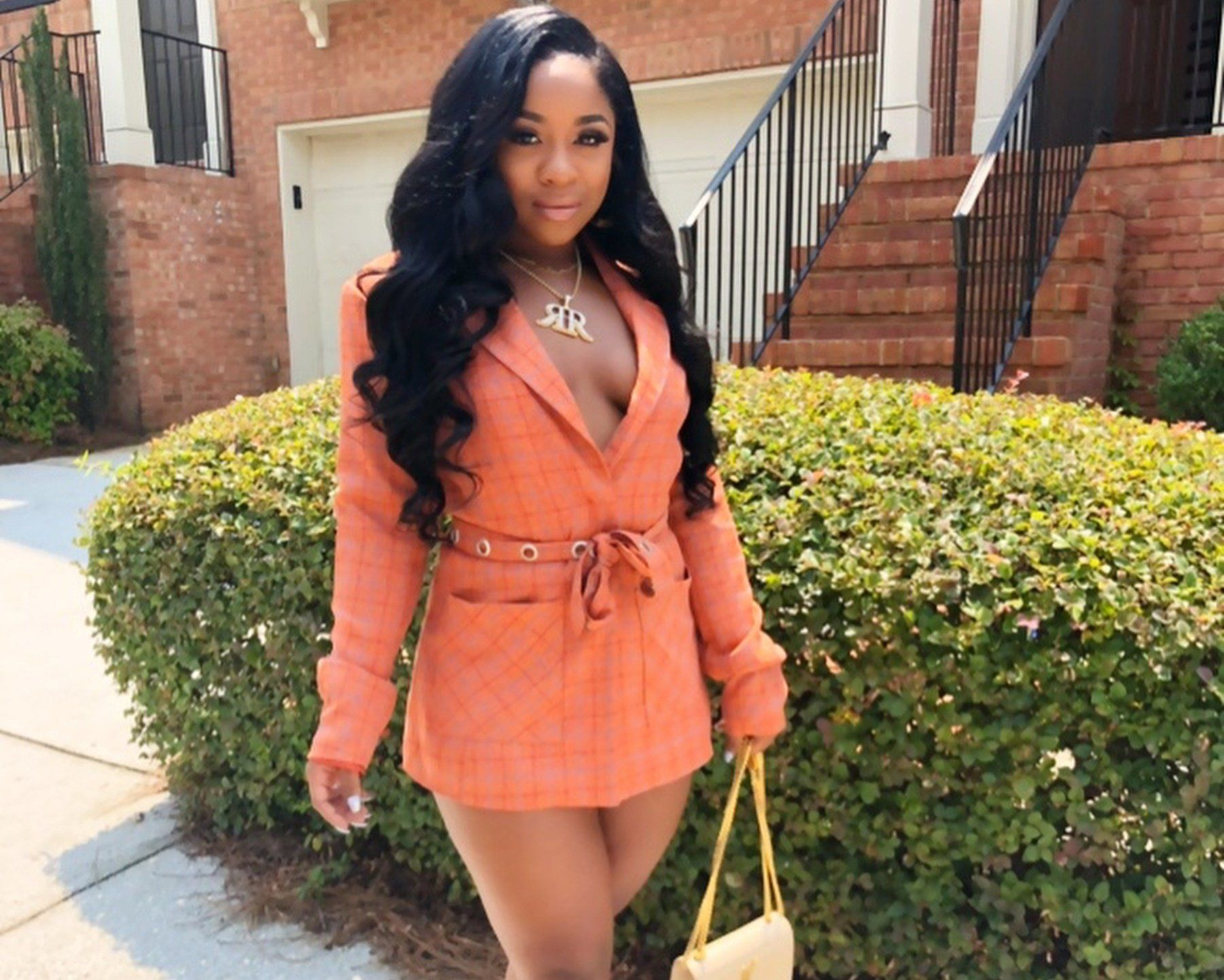 Reginae Carter Stuns In Super Hot And Revealing Plaid Set While Dancing To Her Own Song 'Truth' In New Video!
