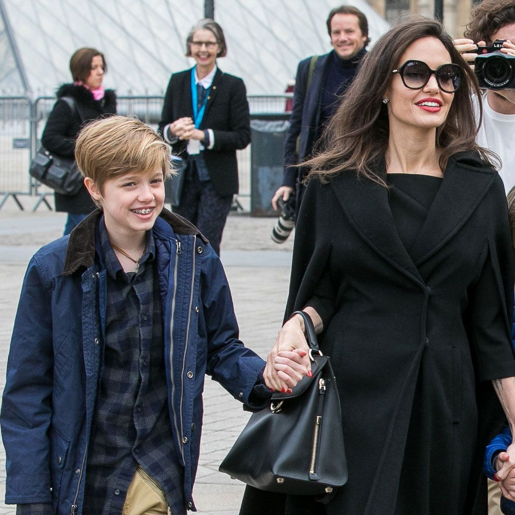 Angelina Jolie And Brad Pitt's Daughter Shiloh Is As Tall As Her Mom In New Pics – Check It Out!