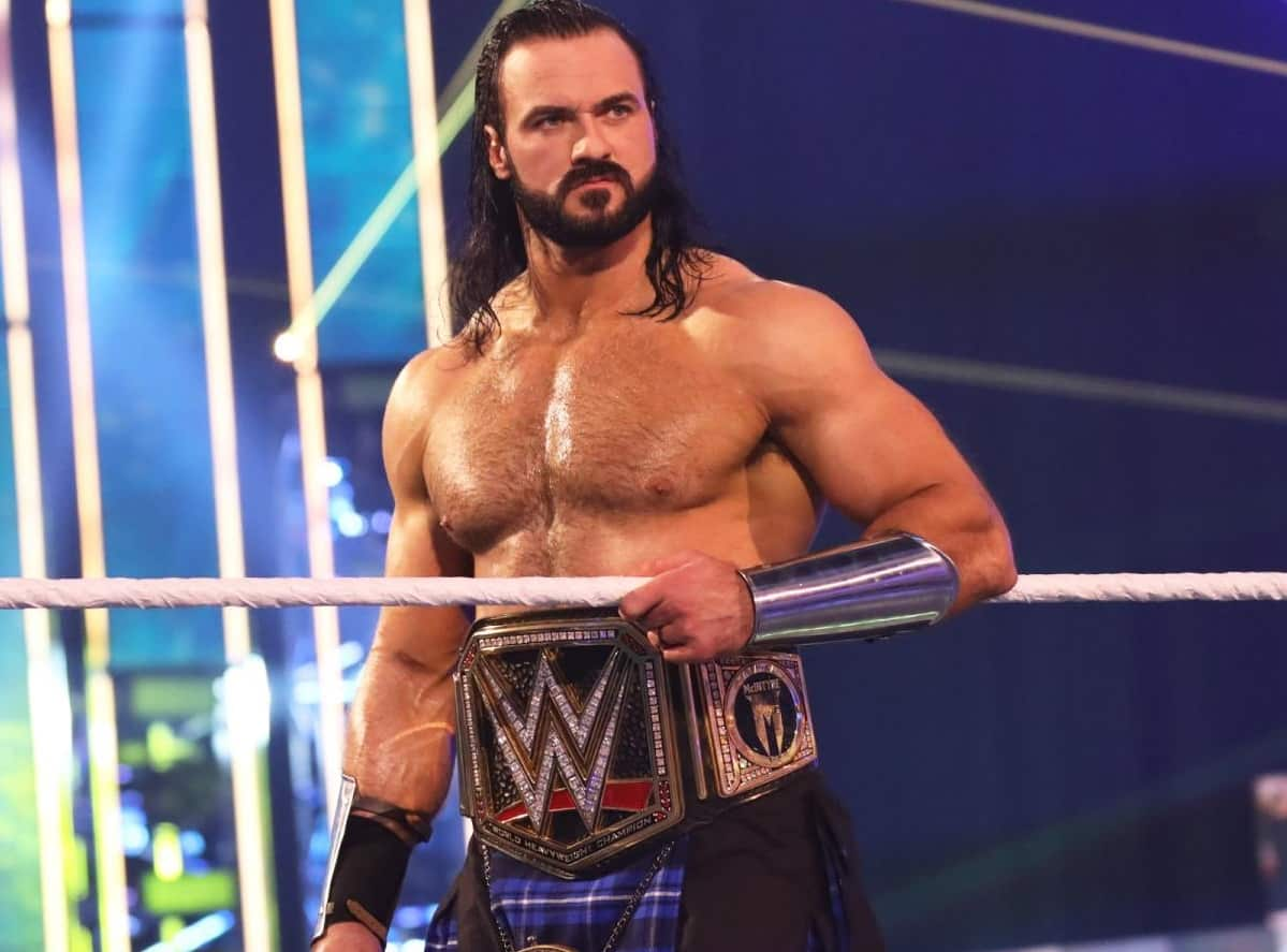 Drew McIntyre Tests Positive for COVID-19, Match With Goldberg in Jeopardy