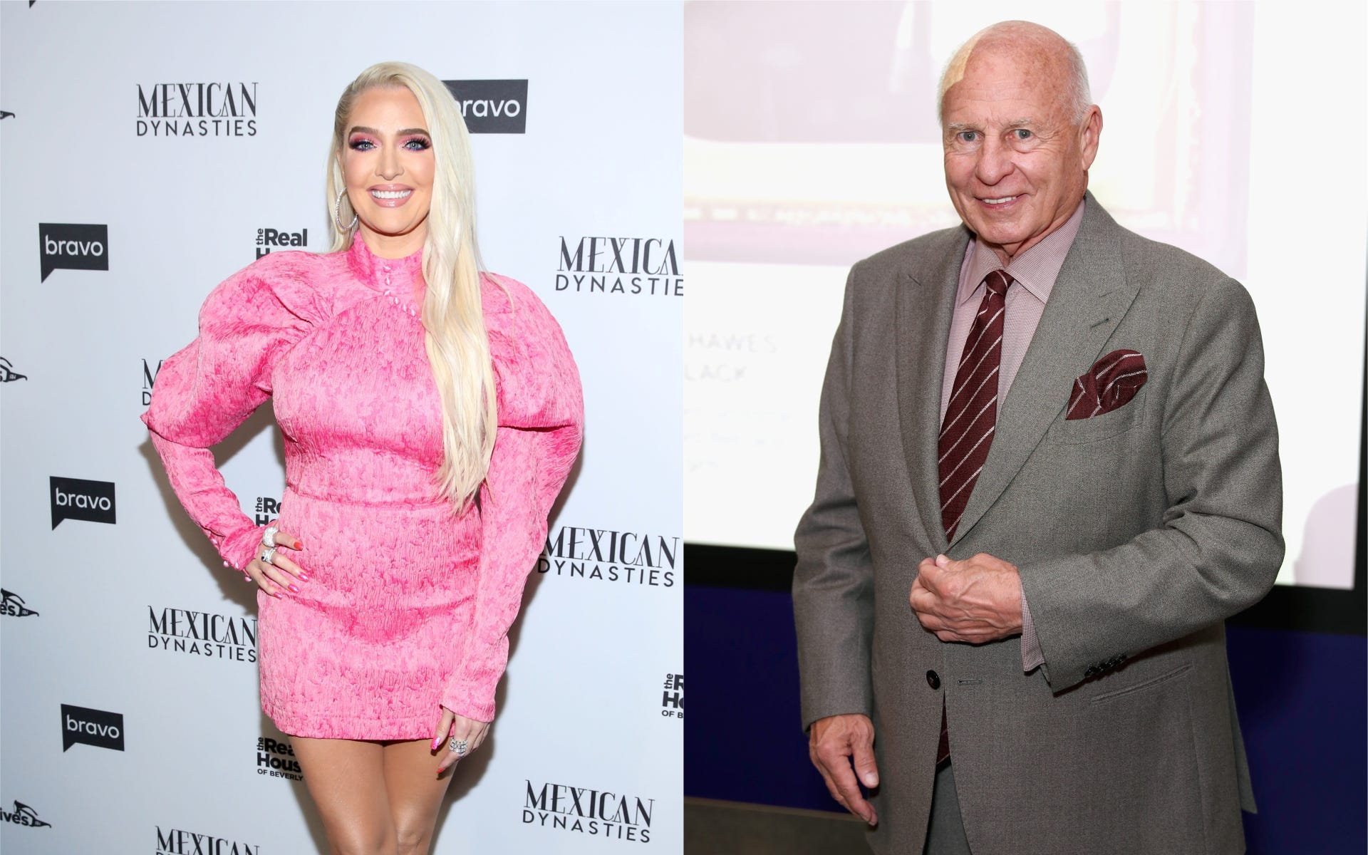 Erika Jayne Allegedly Finding Out About Tom Girardi Case Through The Press — RHOBH Star 'Done' Protecting Him And Will Address Divorce On Show