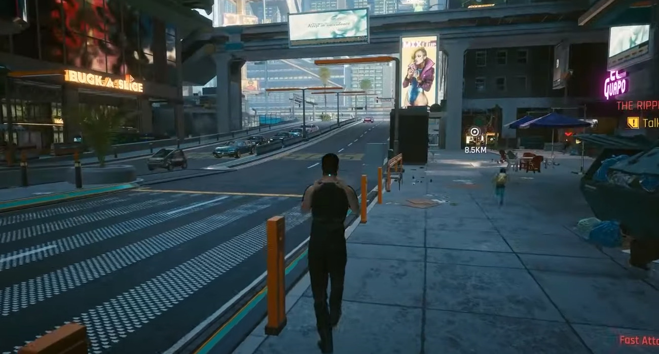 Cyberpunk 2077 Now Has A Third-Person Perspective Mod, Although It's Still A Work In Progress