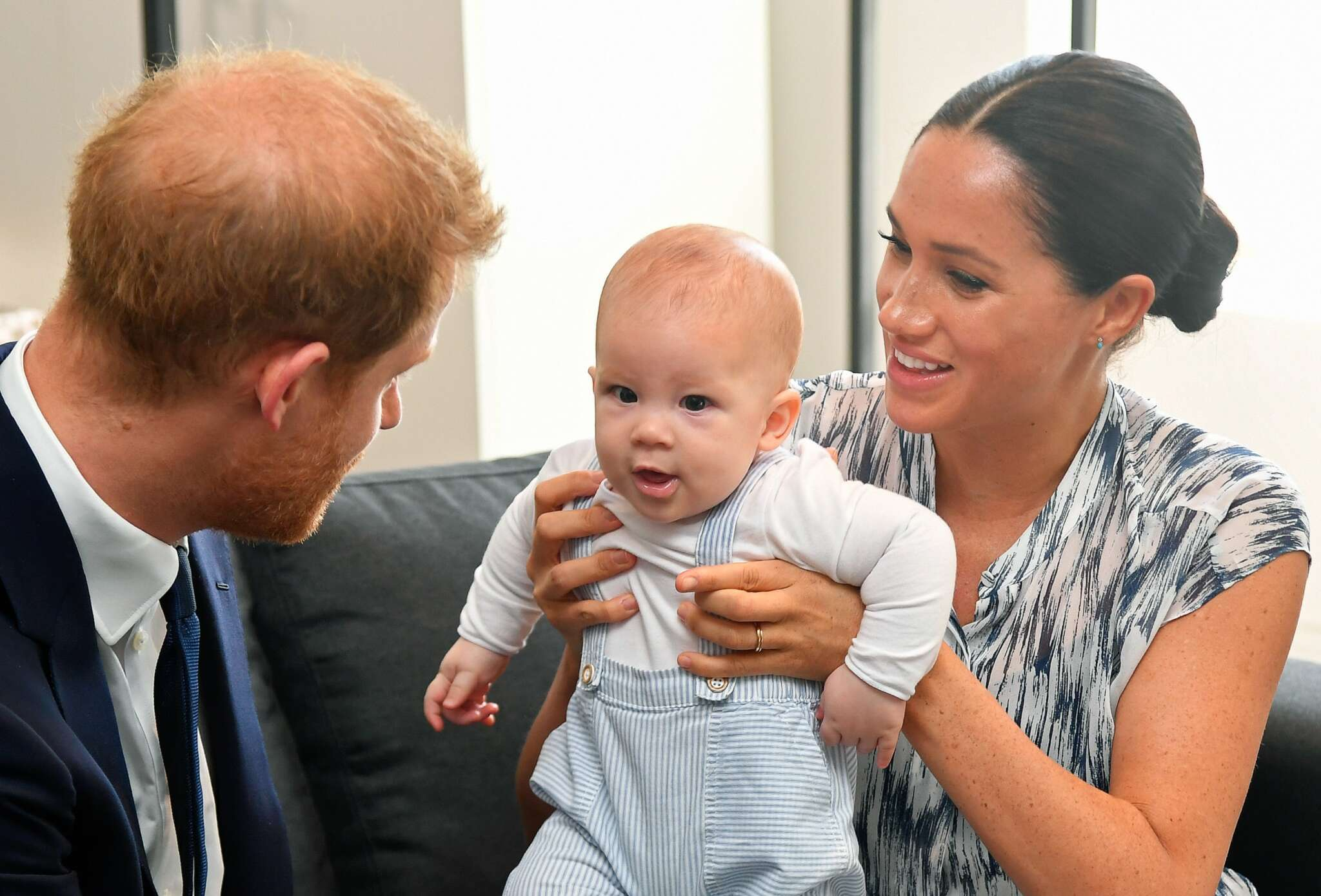 Meghan Markle And Prince Harry's Son Already 'Talking Up A Storm' And Is Really Active, Source Says!