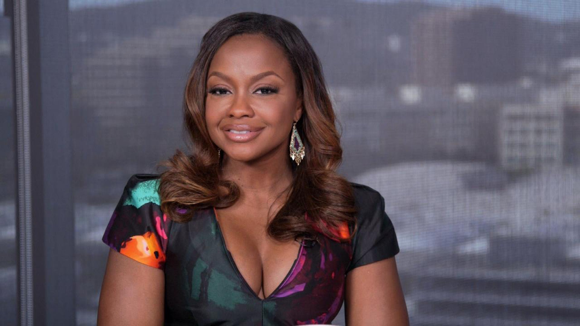 Phaedra Parks Looks Drop-Dead Gorgeous In Red Lingerie