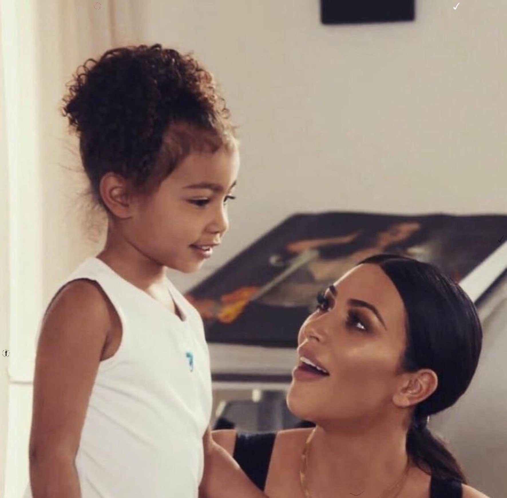 KUWTK: Kim Kardashian Fiercely Defends Daughter North West After Critics Doubt Stunning Painting Was Done By The 7-Year-Old!