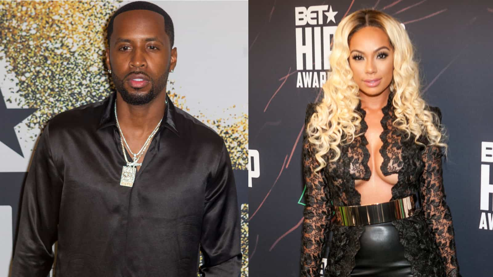 Safaree Reveals A New Facial Expression For Safire Majesty – Check Out The Cute Clip