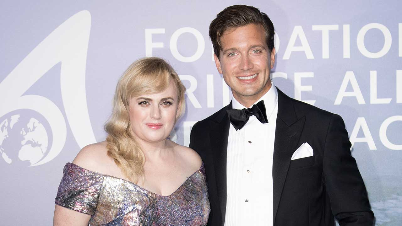 Rebel Wilson Stuns In Elegant Red Dress After Jacob Busch Breakup