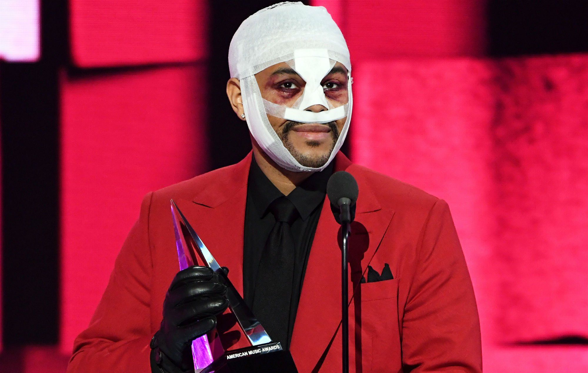 The Weeknd – Here's The Story Behind His Bruised And Bandaged Face!