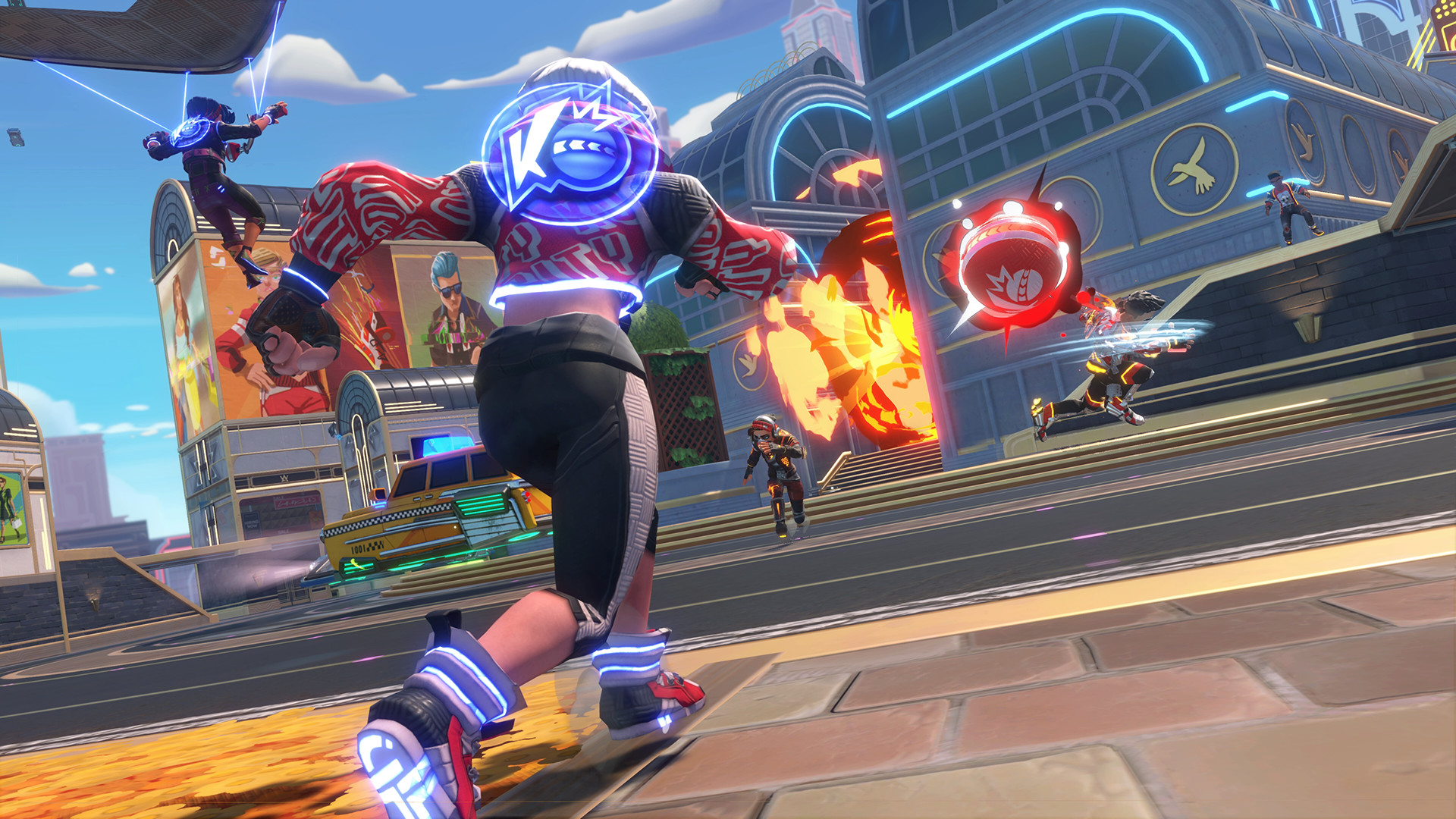 Knockout City Is Bringing Dodgeball To Xbox, PlayStation, Switch and PC Audiences In May