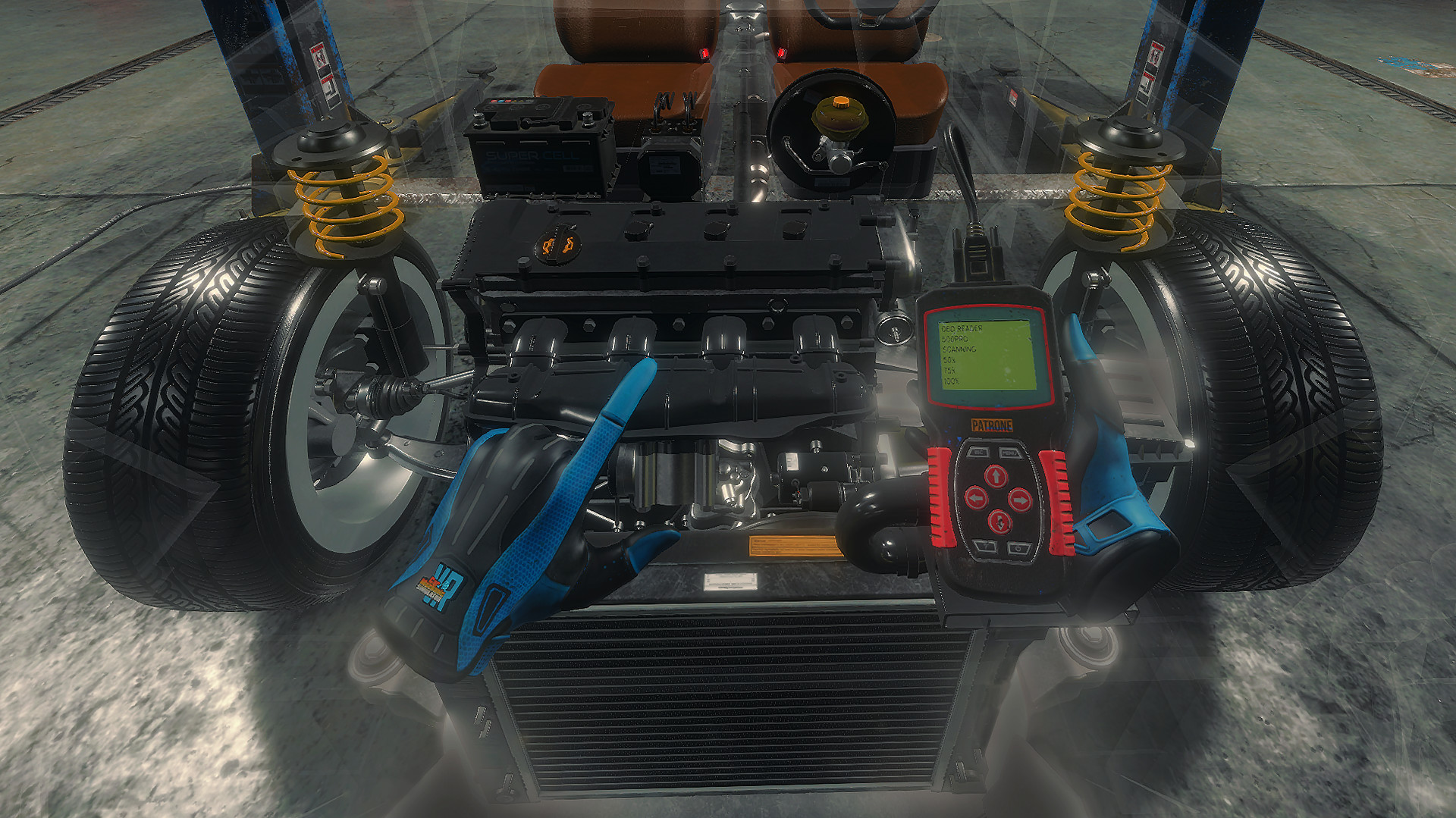 Car Mechanic Simulator Is Headed To VR In Q2 of 2021