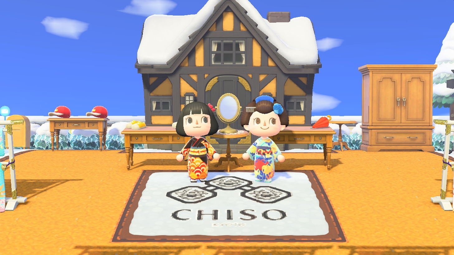 Kimono Designer Chiso Releases New Designs And Dream Island For Animal Crossing: New Horizons