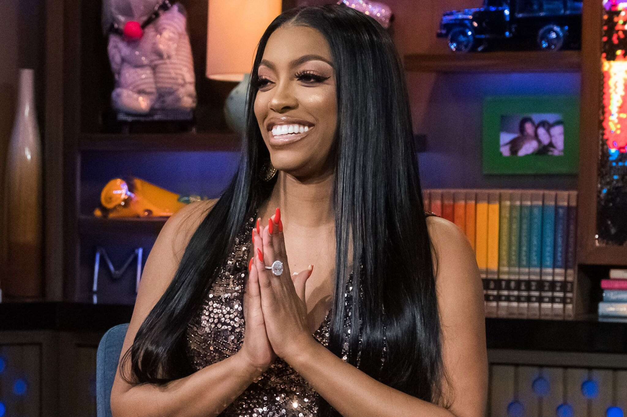Porsha Williams Continues To Push Herself At The Gym Like There's No Tomorrow – See Her Video Here