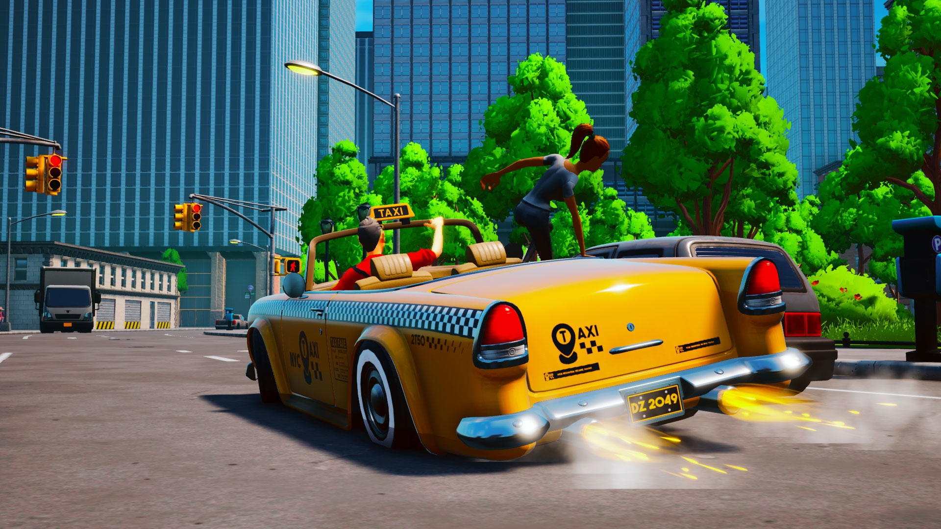 Crazy Driving Game Taxi Chaos Launches On Consoles February 23