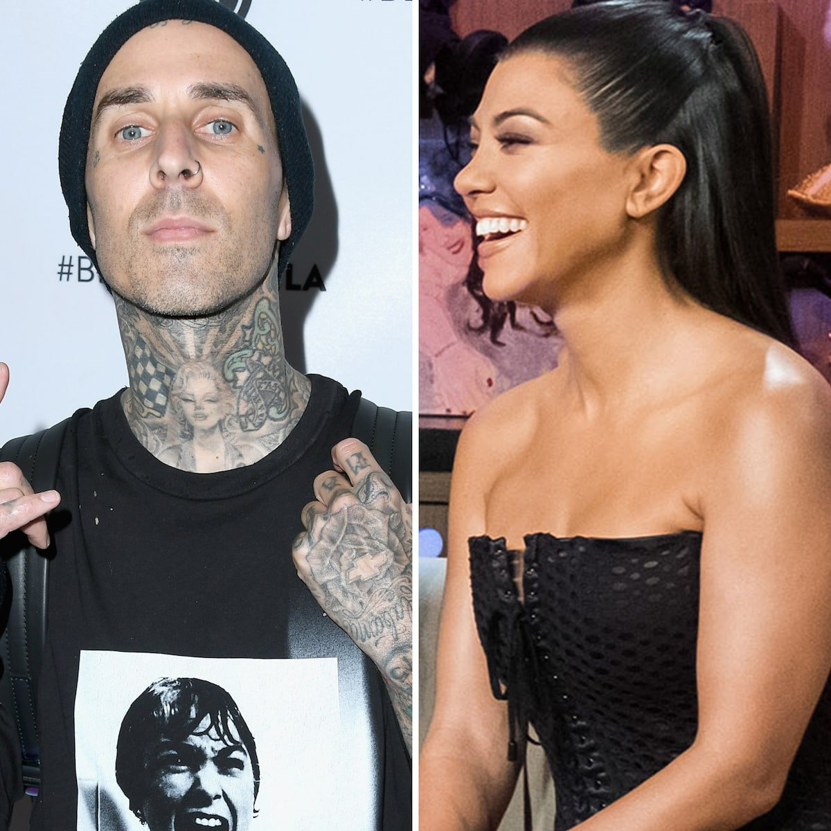 KUWTK: Kourtney Kardashian And Travis Barker – Inside Their Romance And How It Started!