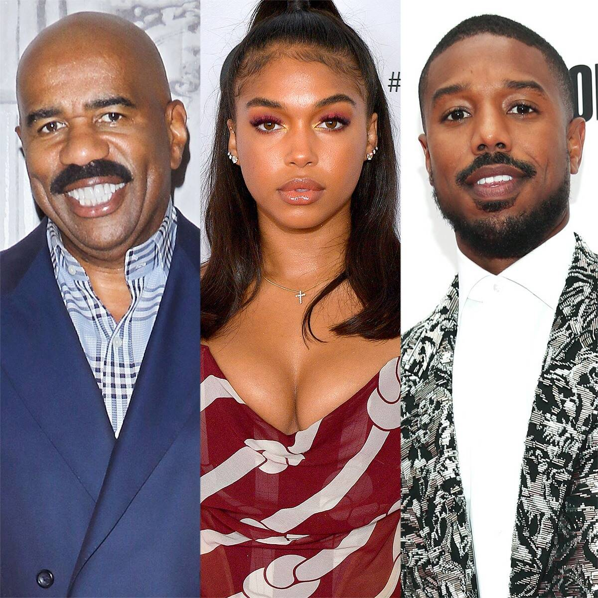 Steve Harvey Says He Really Tried To Find Something Wrong With Michael B. Jordan But Couldn't!