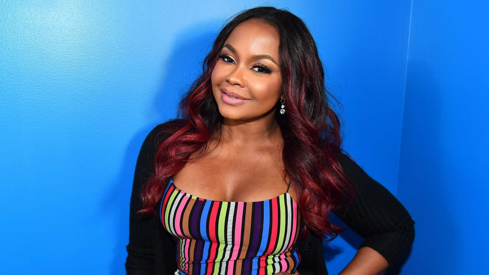 Phaedra Parks Is A Modern Day Poison Ivy In This Dress – Check Out The Post That She Shared On Social Media