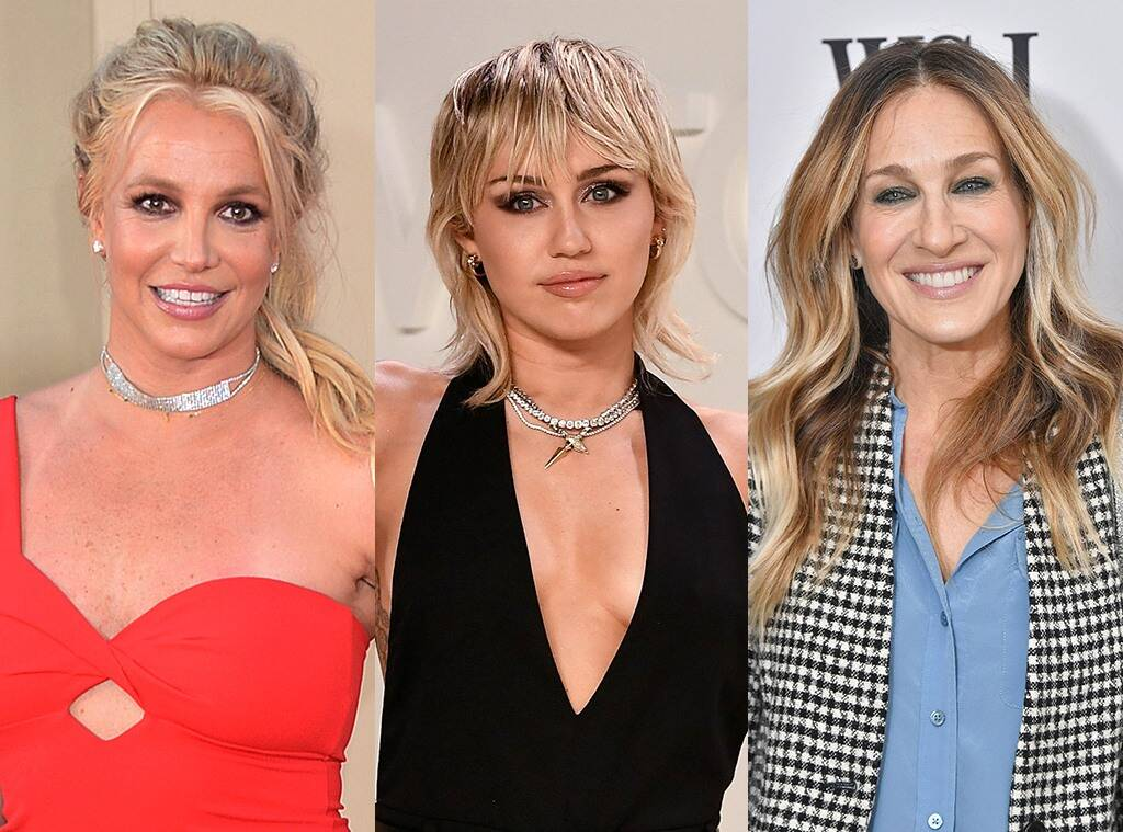 Britney Spears Shows Love To Miley Cyrus, Sarah Jessica Parker, Natalie Portman And Other Ladies Who Were There For Her During Difficult Year!