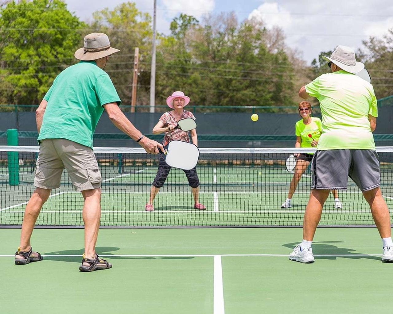 Pickleball: The racquet sport experiencing a pandemic boom