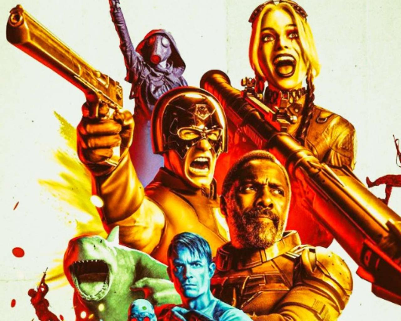 The Suicide Squad: The anti-heroes land in a sassy trailer.