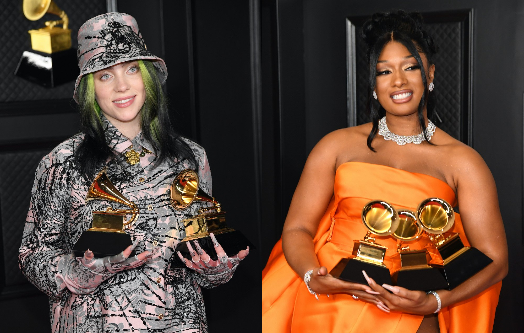 Billie Eilish Gushes Over Megan Thee Stallion During GRAMMY Acceptance Speech – Says She Deserved To Win Record Of The Year Instead