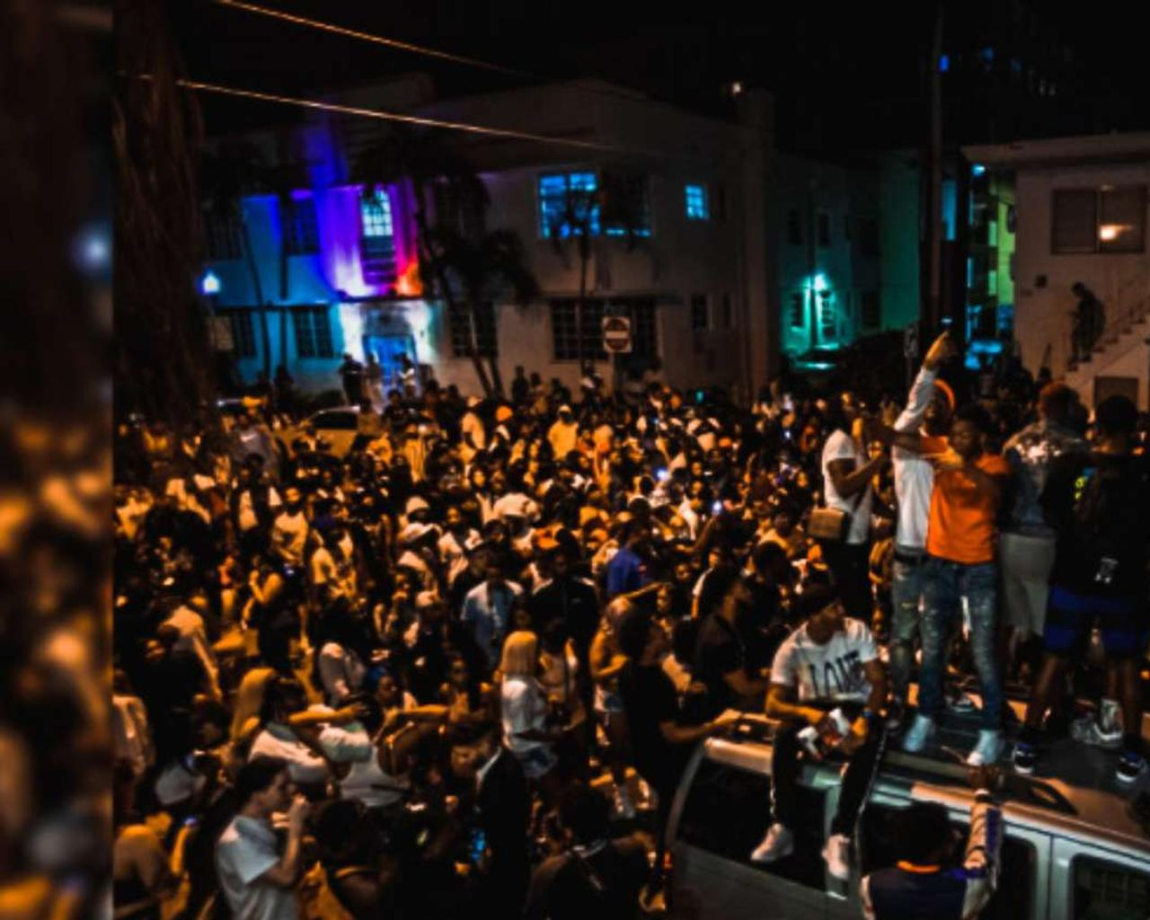 Black leaders say Miami Beach overreacts with a curfew.