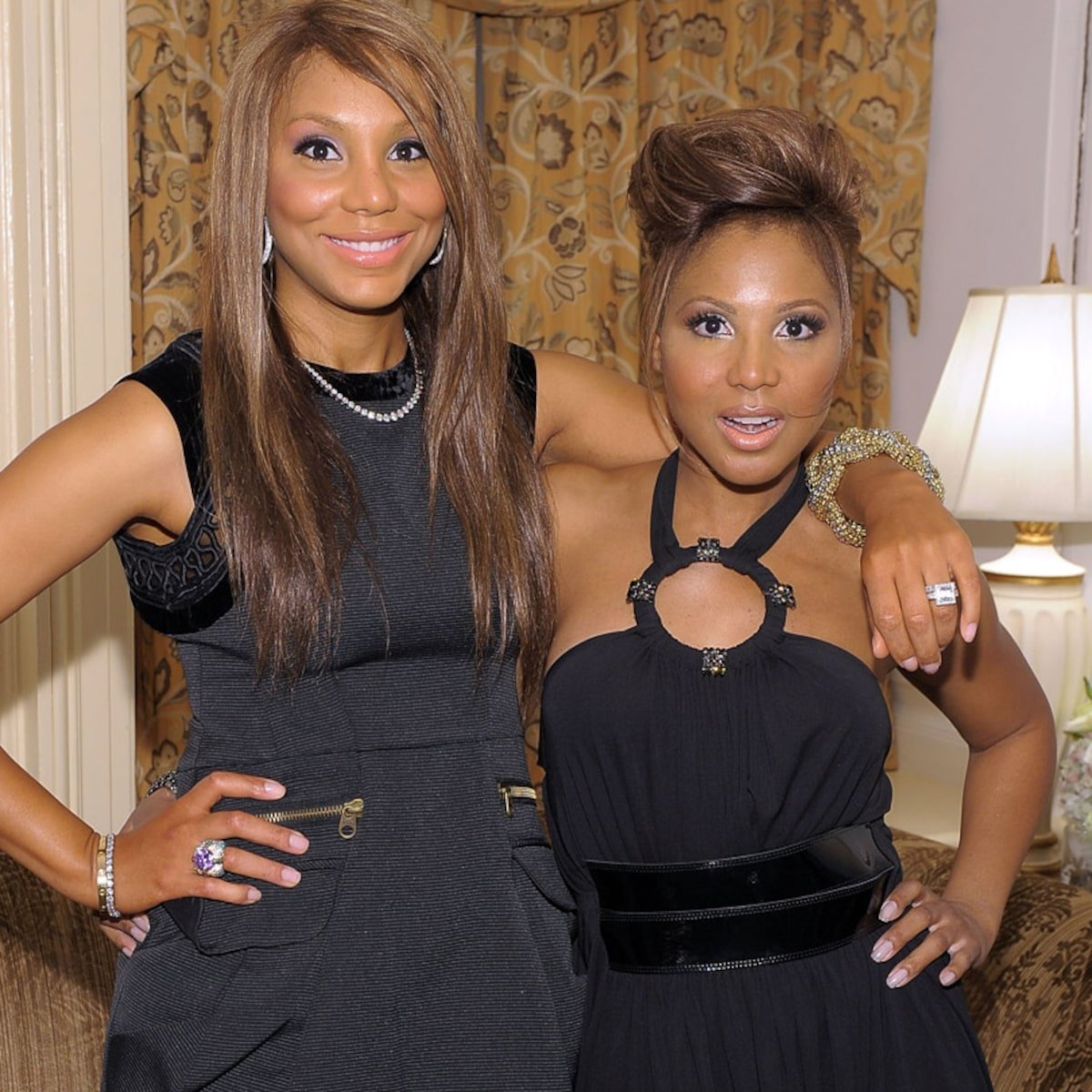 Toni Braxton Wishes A Happy Birthday To Her Little Sister, Tamar Braxton
