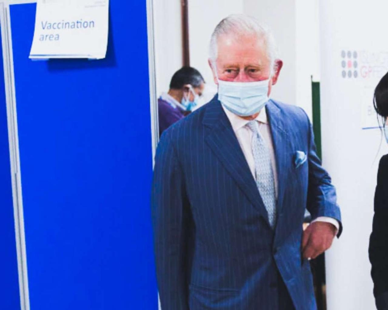 Covid vaccines can protect and set free: Britain's Prince Charles.