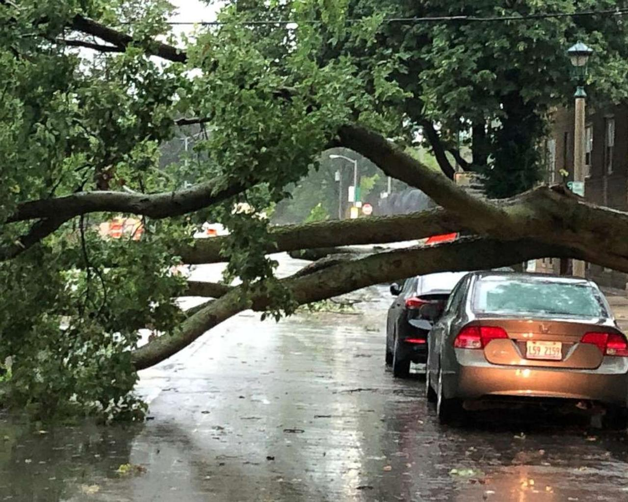 Heavy storms and hurricanes hit the South, killing at least six and leaving extensive destruction