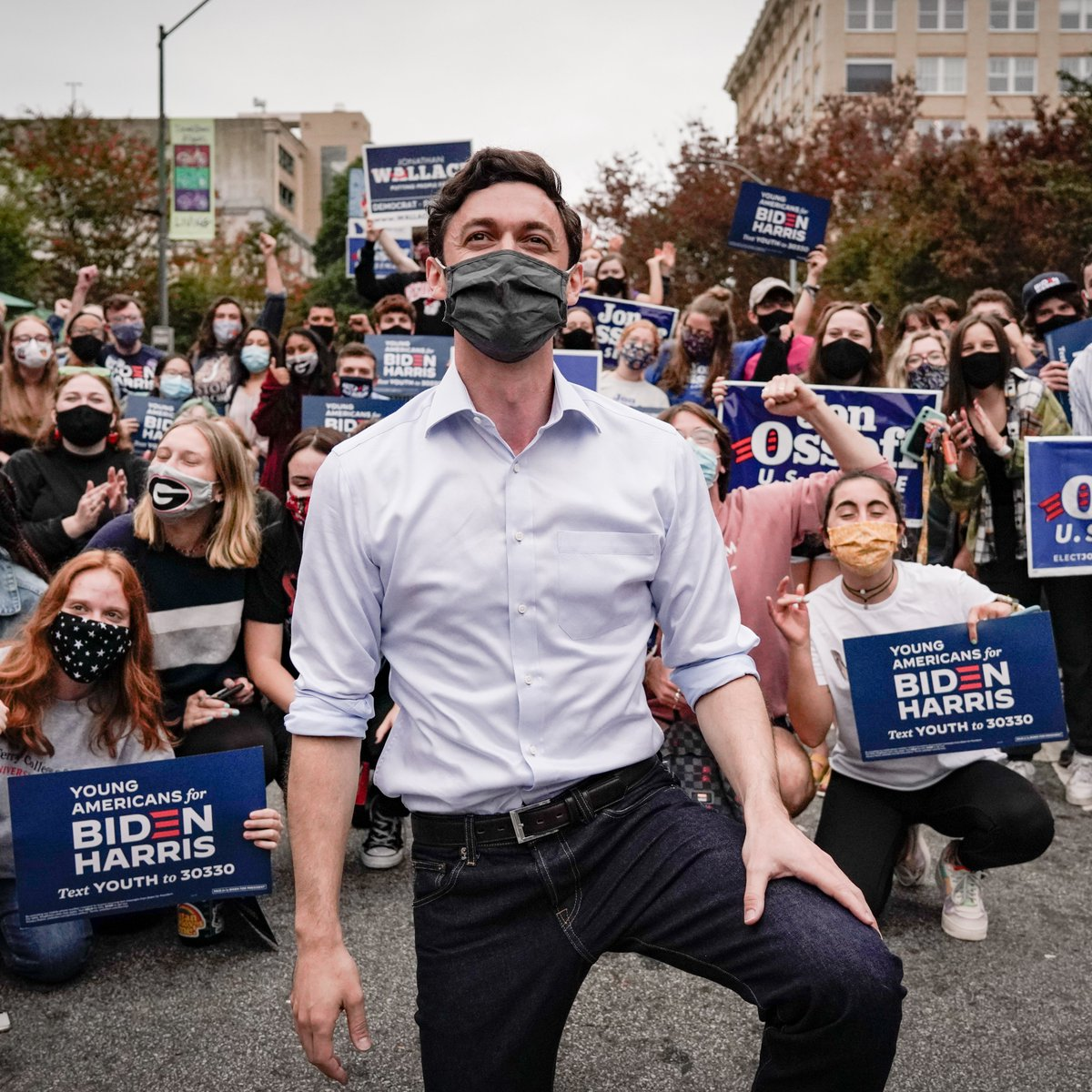 Jon Ossoff Stands With Georgia State Rep. Park Cannon Who Was Arrested
