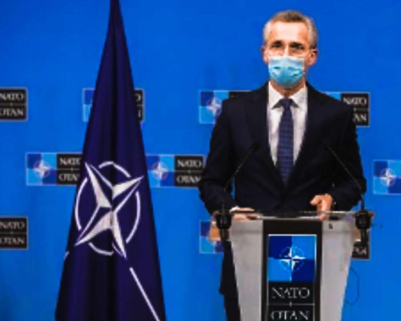 Vladimir Putin is responsible for all actions taken by the Russian state, the NATO secretary-general stressed.