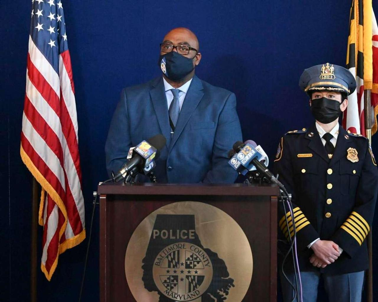 Baltimore County police 'don't know' why a man shot 5 people before committing suicide
