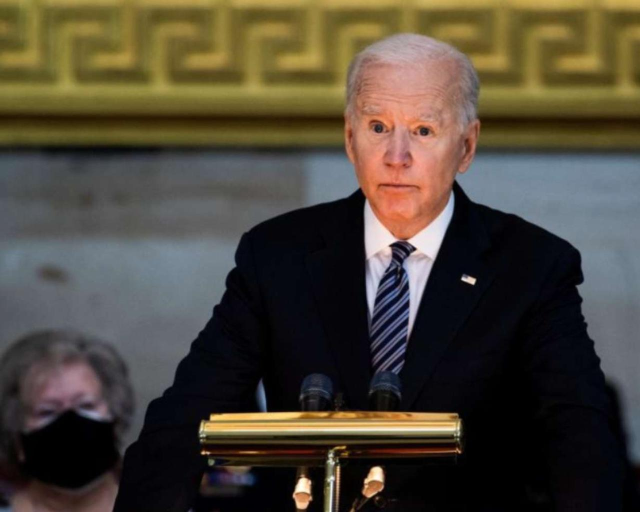 Joe Biden was invited to deliver his first address to a joint session of the US Congress.