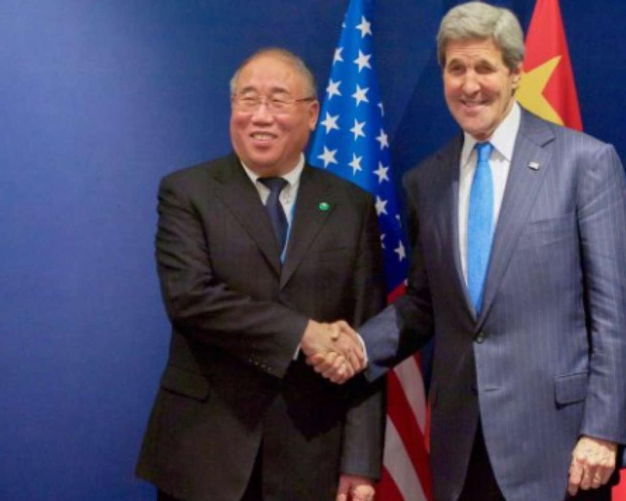 John Kerry, Biden's government envoy, started his China climate talks.