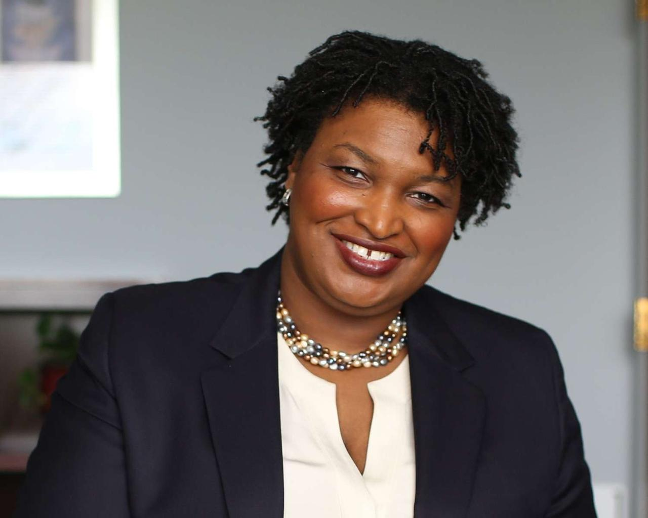 Stacey Abrams: Don't boycott corporations over voting rights yet. First press them to speak up.