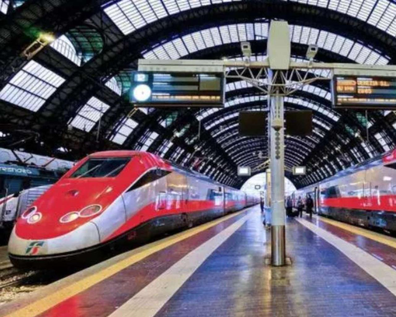 "Italy launched the first ""COVID-free"" passenger train."