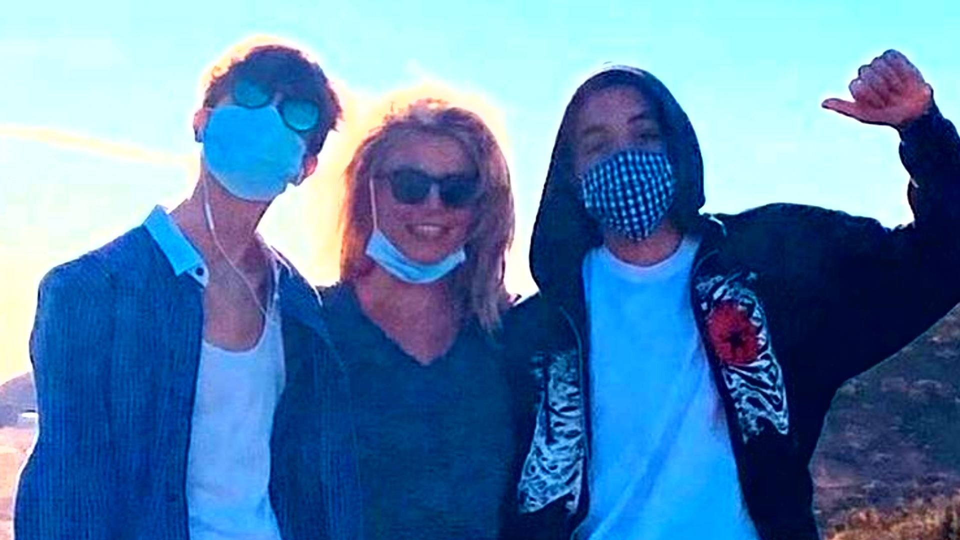 Britney Spears Insider Says The 'Highlight Of Her Week' Is Spending Quality Time With Her Teen Boys – Details!