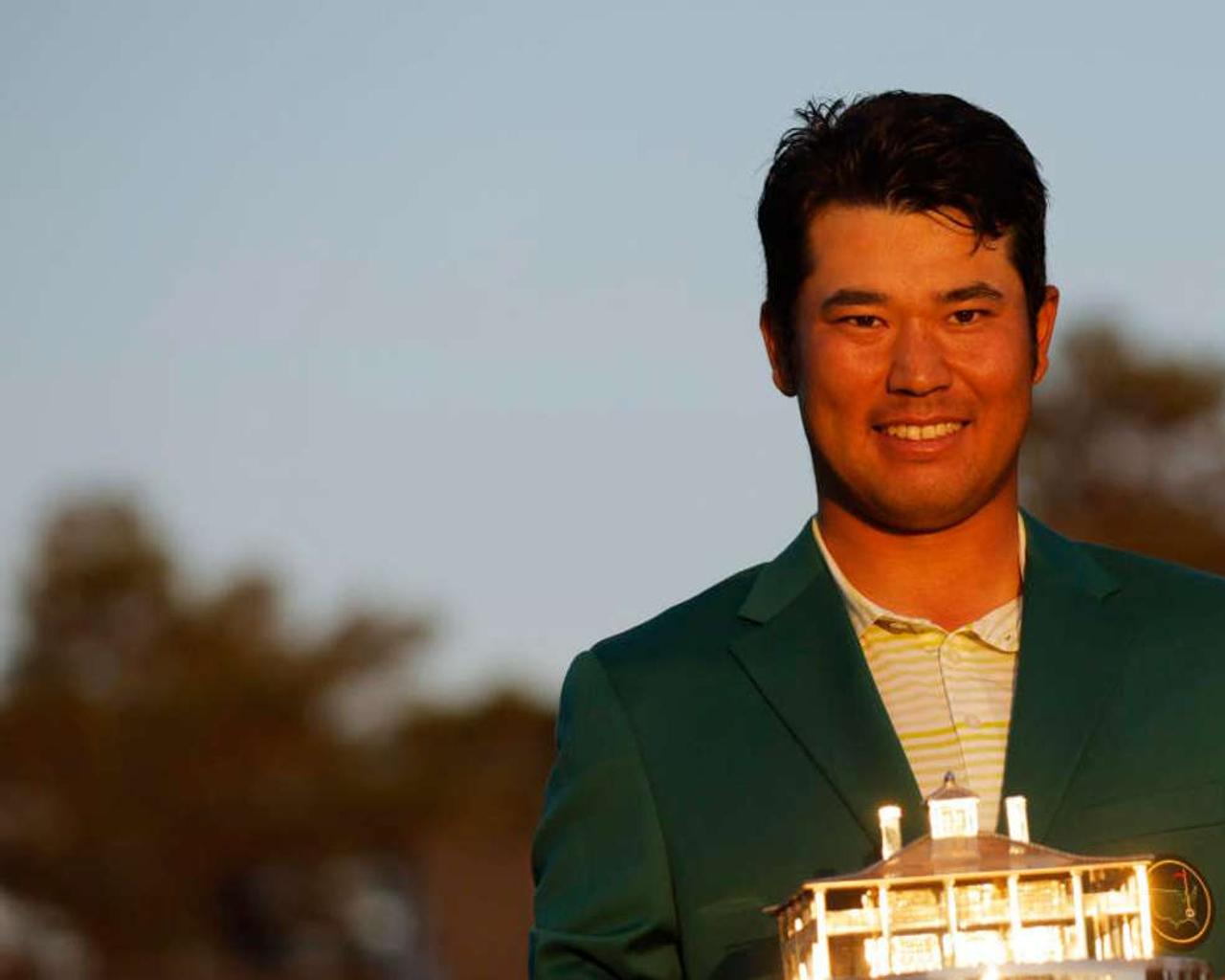 Hideki Matsuyama becomes the first Japanese male athlete to win a Masters in nail finishing