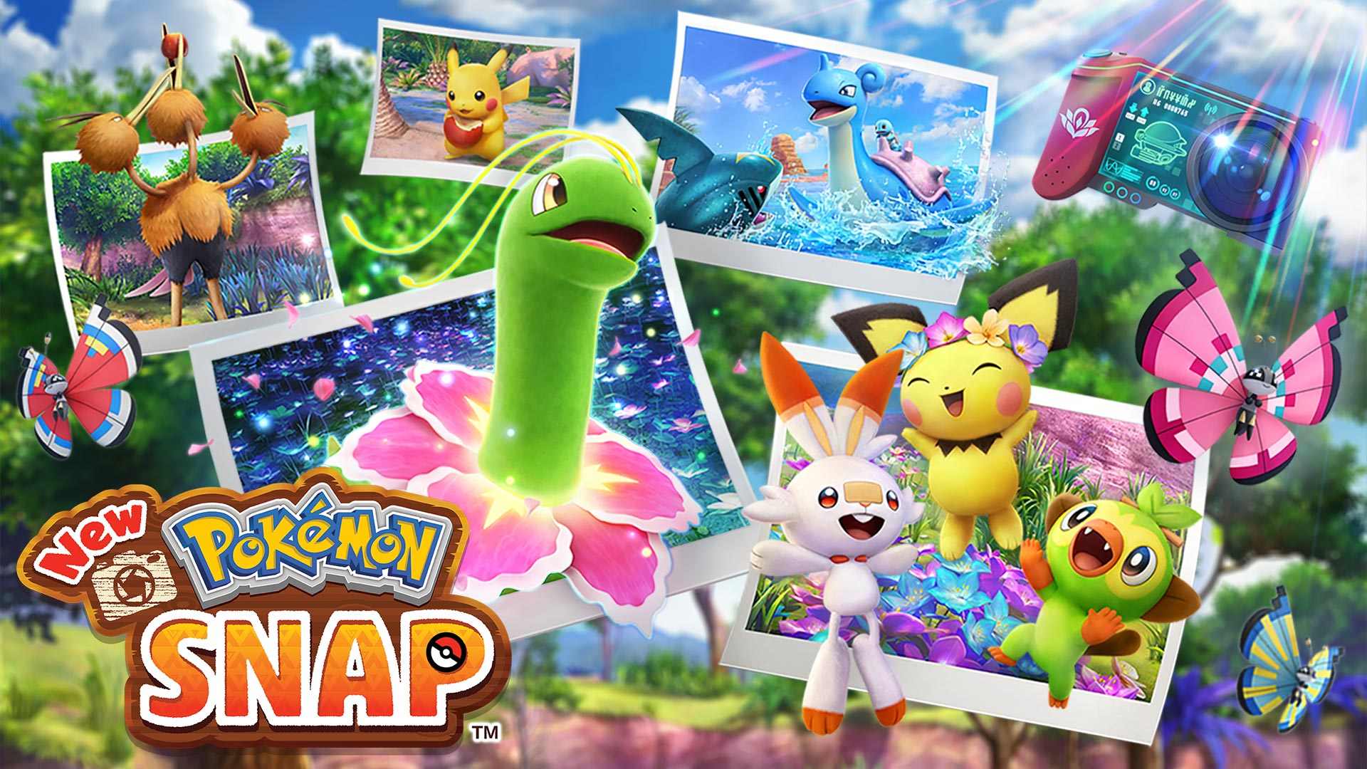 Pokemon Snap Gets New Extensive Trailer Showcasing New Pokemon