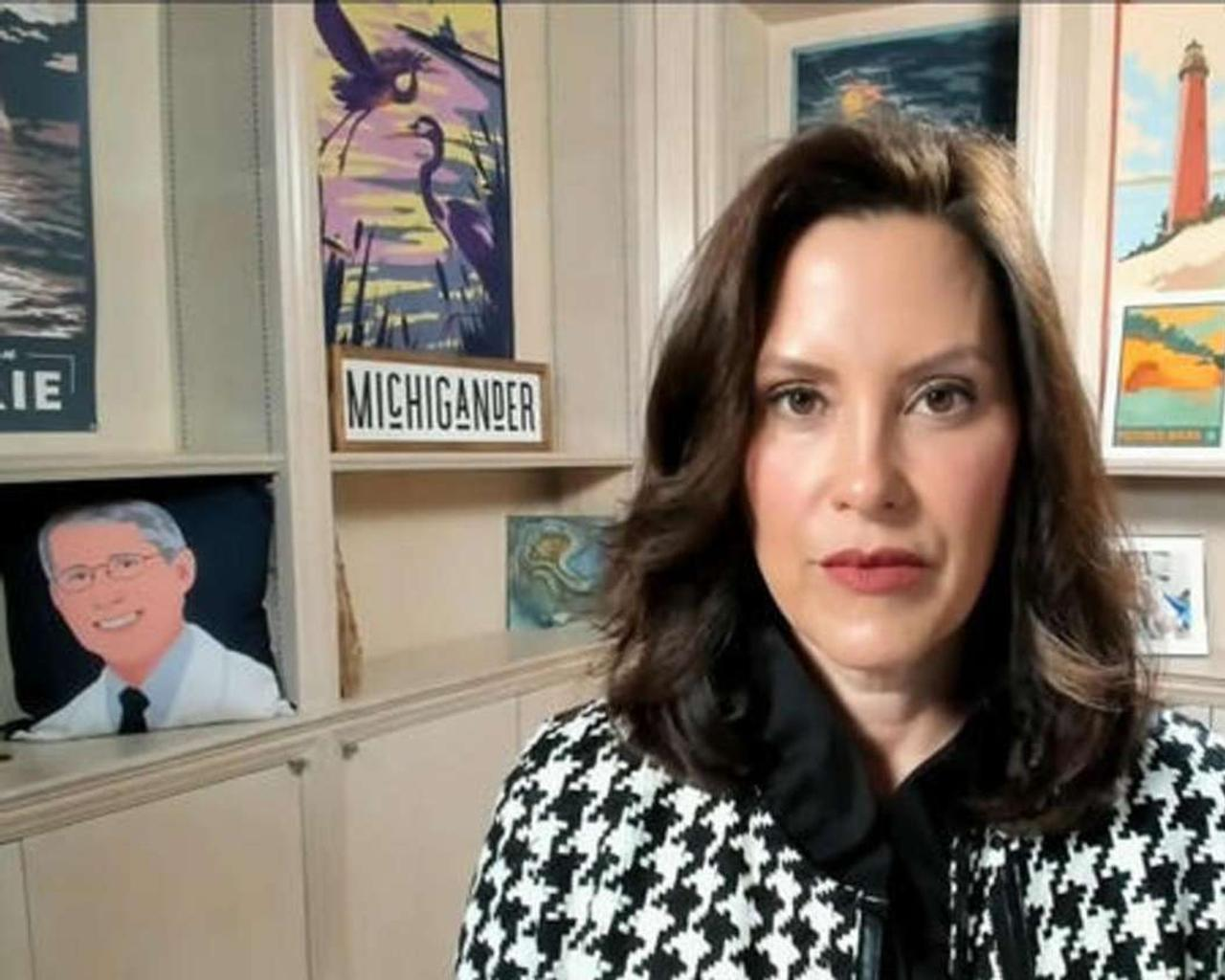 Whitmer is pushing for more vaccines as COVID cases rise in Michigan