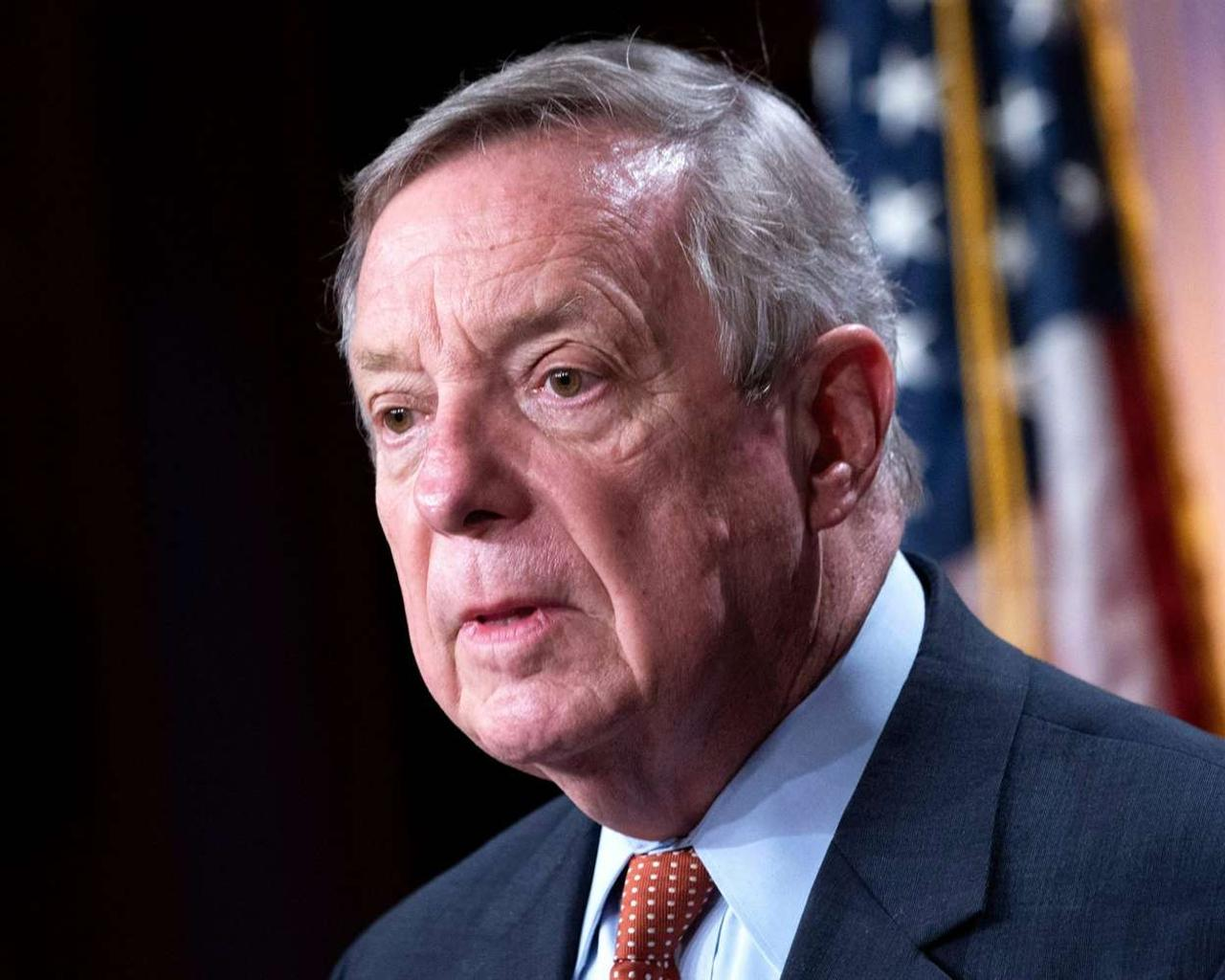Durbin wants more info on Trump appointees 'burrowed' into career Justice Dept. jobs